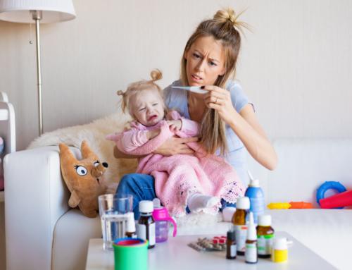 El bebé ya está en casa: cuidados básicos, ¿ cómo actuar si se pone enfermo ?